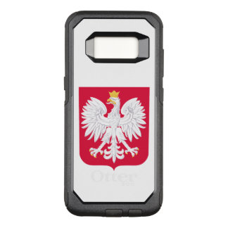 Poland Polish coat of arms OtterBox Commuter Samsung Galaxy S8 Case