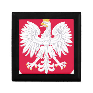Poland Polish coat of arms Small Square Gift Box