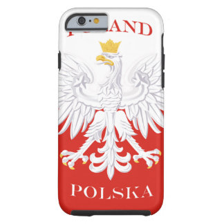 Poland Polish Flag Tough iPhone 6 Case