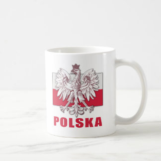 Poland Polska Coat of Arms Coffee Mug