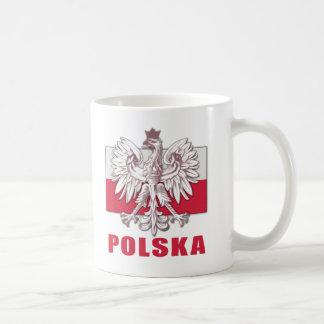 Poland Polska Coat of Arms Coffee Mugs