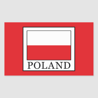 Poland Rectangular Sticker