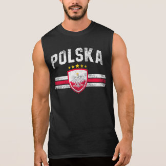 Poland Sleeveless Shirt