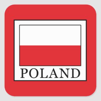 Poland Square Sticker
