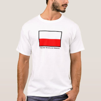 Poland Warsaw LDS Mission T-Shirt