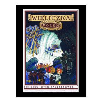 Poland Wieliczka Postcard