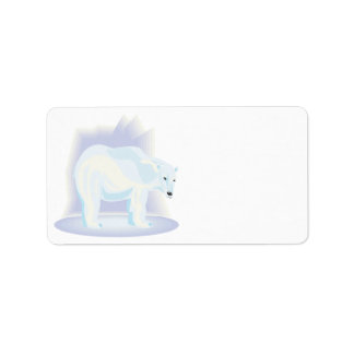 Polar Bear 2 Address Label