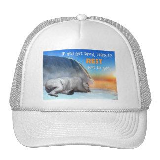 Polar bear - 3D render Cap