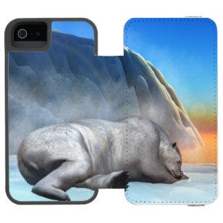 Polar bear - 3D render Incipio Watson™ iPhone 5 Wallet Case