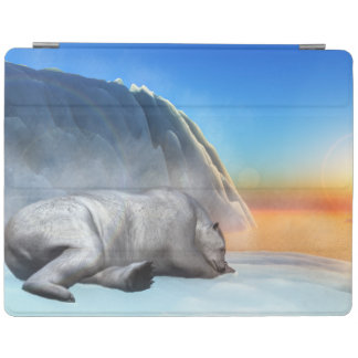Polar bear - 3D render iPad Cover