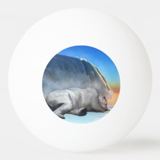 Polar bear - 3D render Ping Pong Ball
