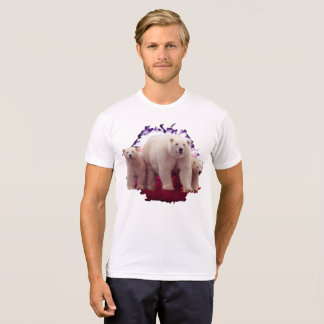 polar bear and cubs T-Shirt