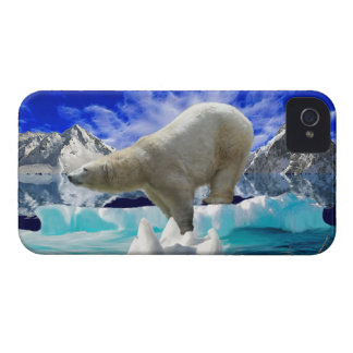Polar Bear & Arctic Ice iPhone 4 Case