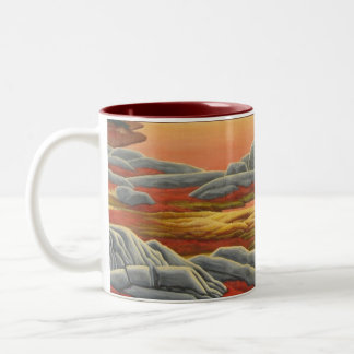 Polar Bear Art Coffee Mug Wildlife Art Bear Cup