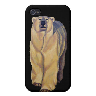 Polar Bear Art iPhone 4 Case Bear Art iPhone Case