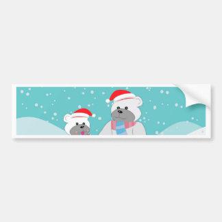 polar bear B Bumper Sticker