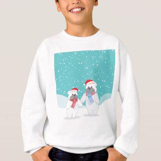 polar bear B Sweatshirt