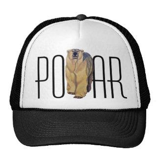 Polar Bear Caps & Hats Wildlife Art Hat