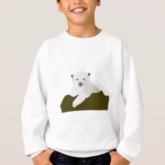 Polar Bear Cartoon Sweatshirt