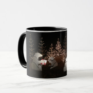 Polar Bear Christmas Mug
