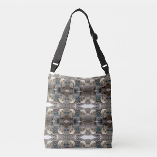 Polar Bear Cross Body tote