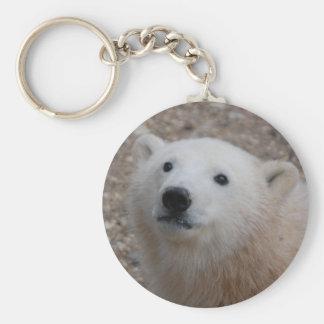 Polar Bear Cub Key Ring