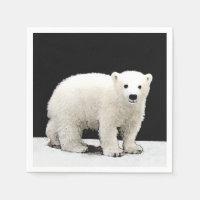 Polar Bear Cub Painting - Original Wildlife Art