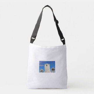 Polar bear, Custom All-Over-Print Cross Body Bag
