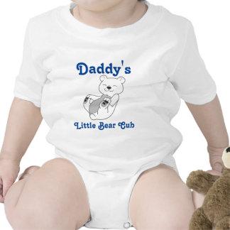 Polar Bear Customizable Kids Shirt with Blue Text