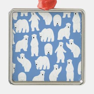 Polar Bear Day - Appreciation Day Metal Ornament