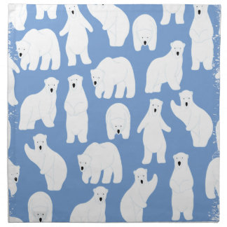 Polar Bear Day - Appreciation Day Napkin