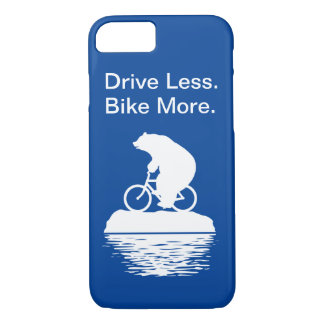"Polar Bear ""Drive Less. Bike More."" iPhone Case"