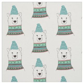 Polar Bear Fabric