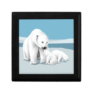 Polar Bear Family Gift Box