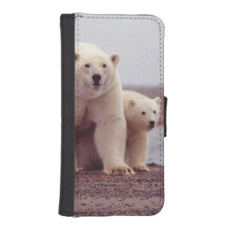 Polar Bear Family iPhone SE/5/5s Wallet Case