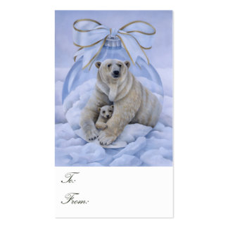 Polar Bear Gift Tags Pack Of Standard Business Cards
