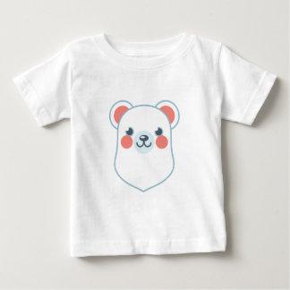 Polar Bear Head Baby T-Shirt
