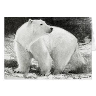 Polar Bear Holiday Customisable Card
