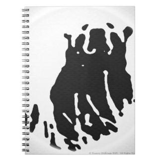 Polar Bear in Grey Note Books