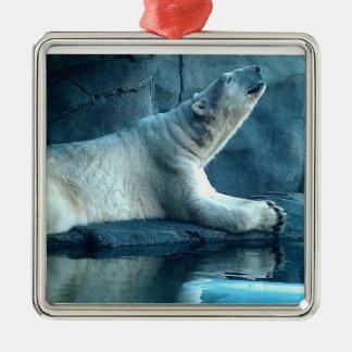 Polar Bear In Prayer Ornament