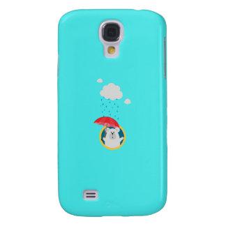 Polar Bear in the Rain Q1Q Galaxy S4 Covers