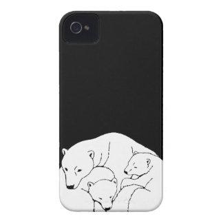 Polar Bear IPhone 4 Case 3 Bears Iphone Case
