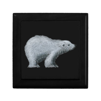 Polar Bear Jewelry Box