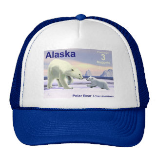 Polar Bear - Mama Nose Best Cap