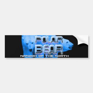 POLAR BEAR NANOOK of the North Bumper Sticker
