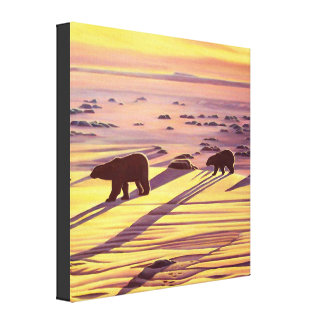 Polar Bear Painting Prints & Posters