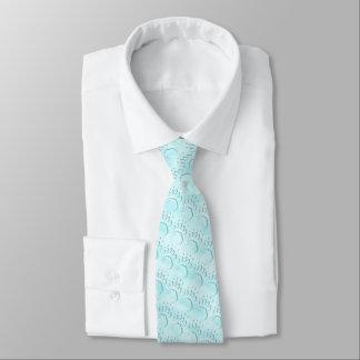 Polar Bear Paw Print Tie