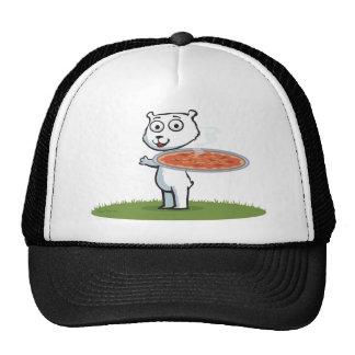 Polar Bear Pizza Cap