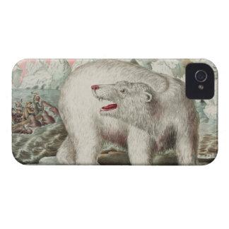 Polar Bear Poster iPhone 4 Covers