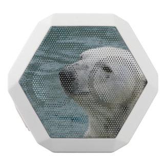 Polar Bear Profile White Boombot Rex Bluetooth Speaker